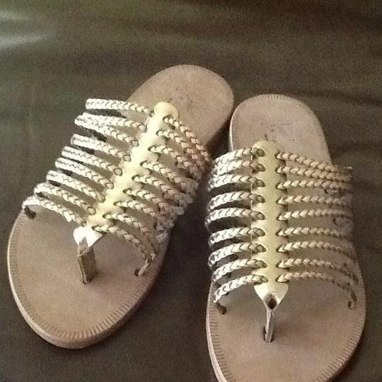 Joie Rose Gold Sandals