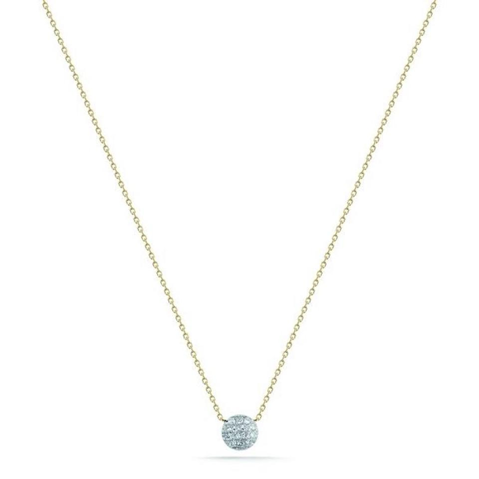 6b83d6d8902ff Dana Rebecca Designs Yellow Gold Lauren Joy Mini Necklace 43% off retail