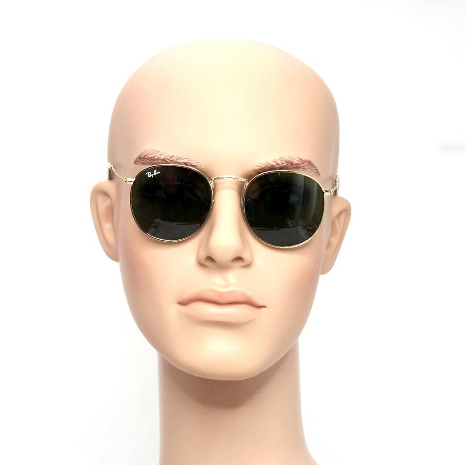 a4dac43bc8 ... ireland ray ban round metal sunglasses rb3447 001 gold frame 50mm green.  123456 ae778 44baf