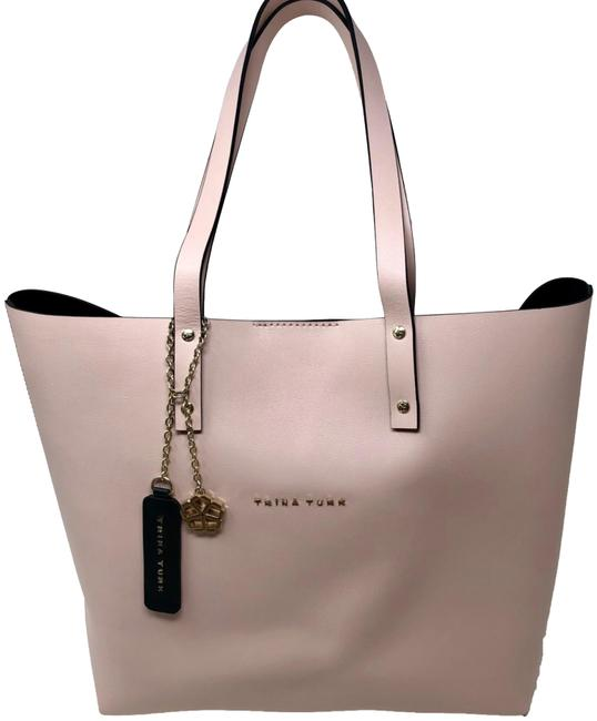 Item - Laney Pink/Nude Leather Tote