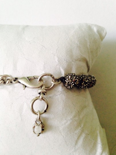 Lucky Brand NWOT Pave' Ball & Chain Bracelet