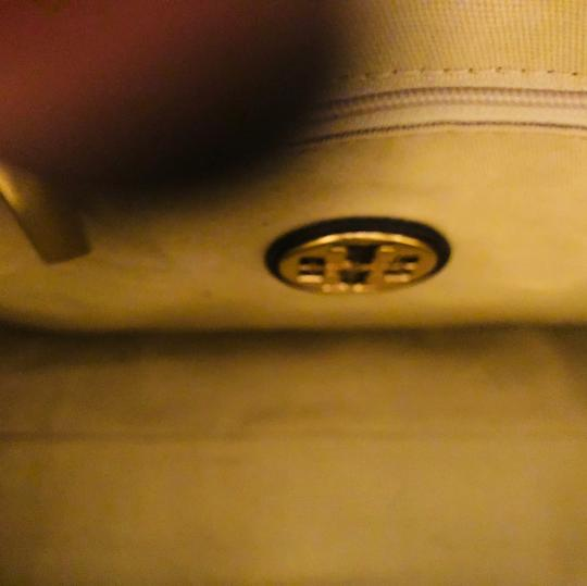 Tory Burch Satchel in Coconut Brown... With tan Inside Lining