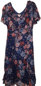 Blue Floral Maxi Dress by Sundance