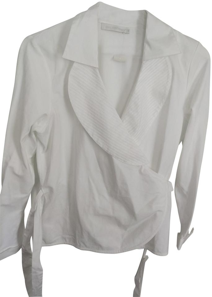 anne fontaine white blouses on sale