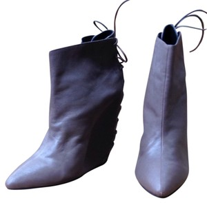KATHRYN AMBERLEIGH Taupe Boots
