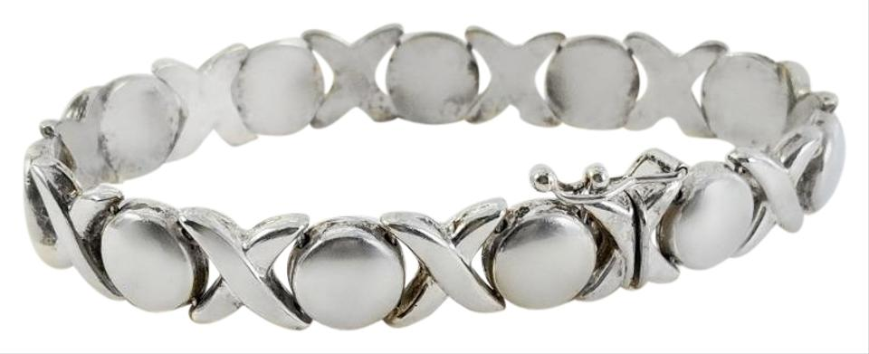 Alf Xoxo Thick Sterling Bracelet