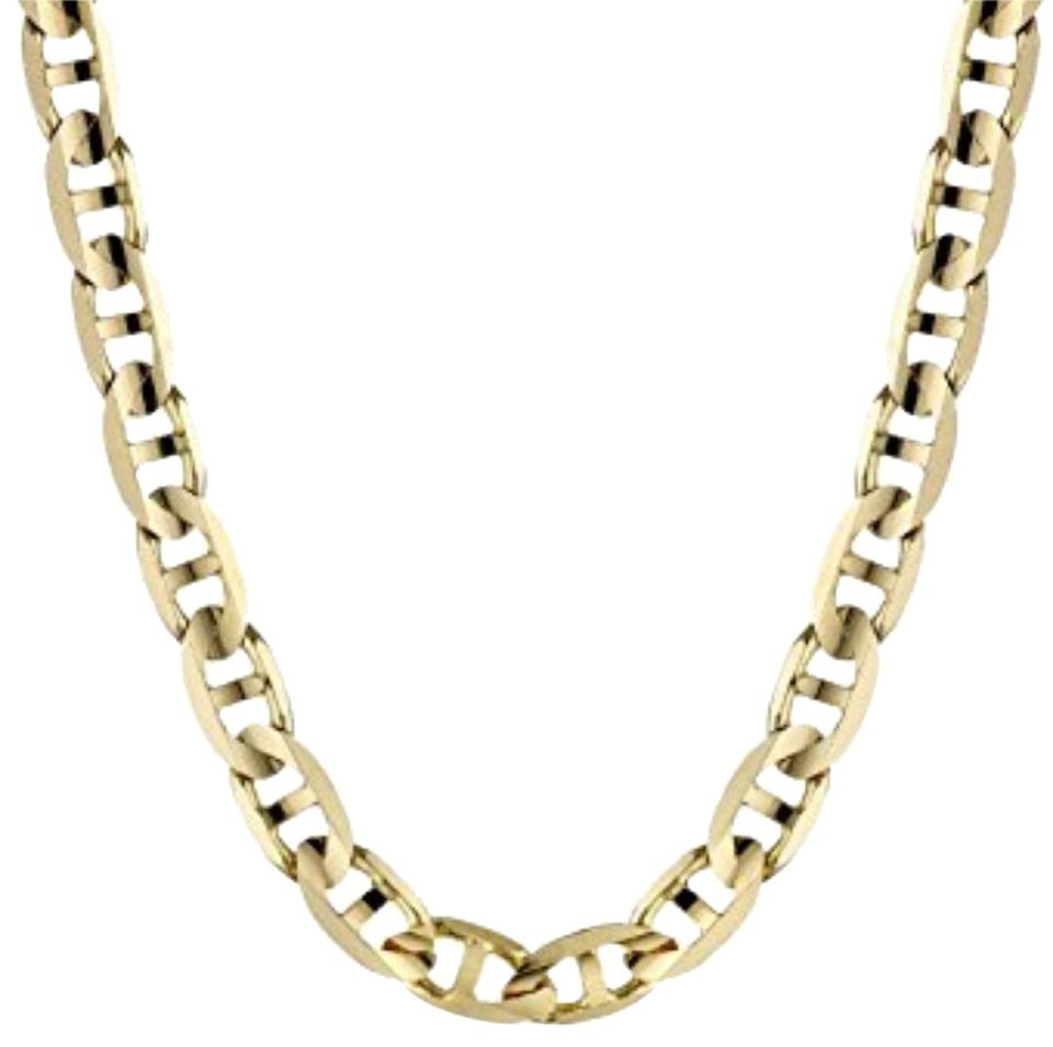 be37789d7 14k Yellow Gold Filled Gucci Style Chain Necklace - Tradesy