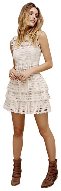 Item - Ivory Meet Me At Midnight Short Night Out Dress Size 2 (XS)