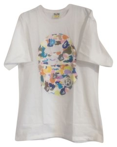 Bape T Shirt White