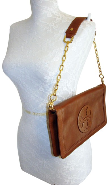 Item - Shoulder Bag Reva Brown Leather Clutch
