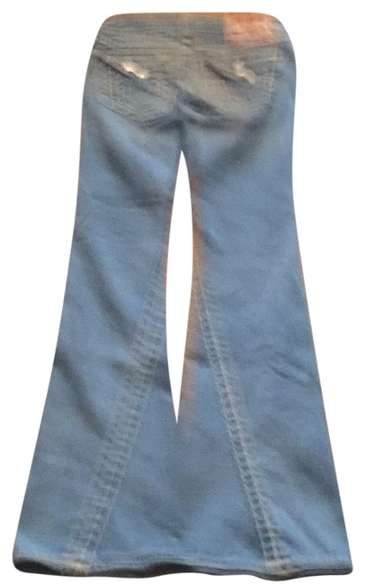 Item - Blue Acid Bottoms Flare Leg Jeans Size 6 (S, 28)