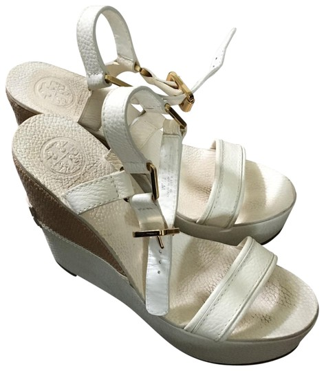 Tory Burch cream Wedges Image 0