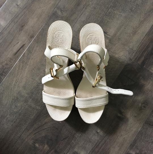 Tory Burch cream Wedges Image 2