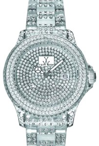 ToyWatch ToyWatch Ladies total stone -white Swarovski crystals