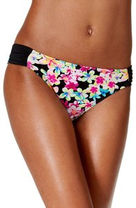 California Waves California Waves Juniors Summer of Love Printed Hipster Bikini Bottom