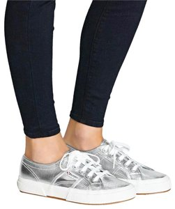 Superga metallic silver Athletic