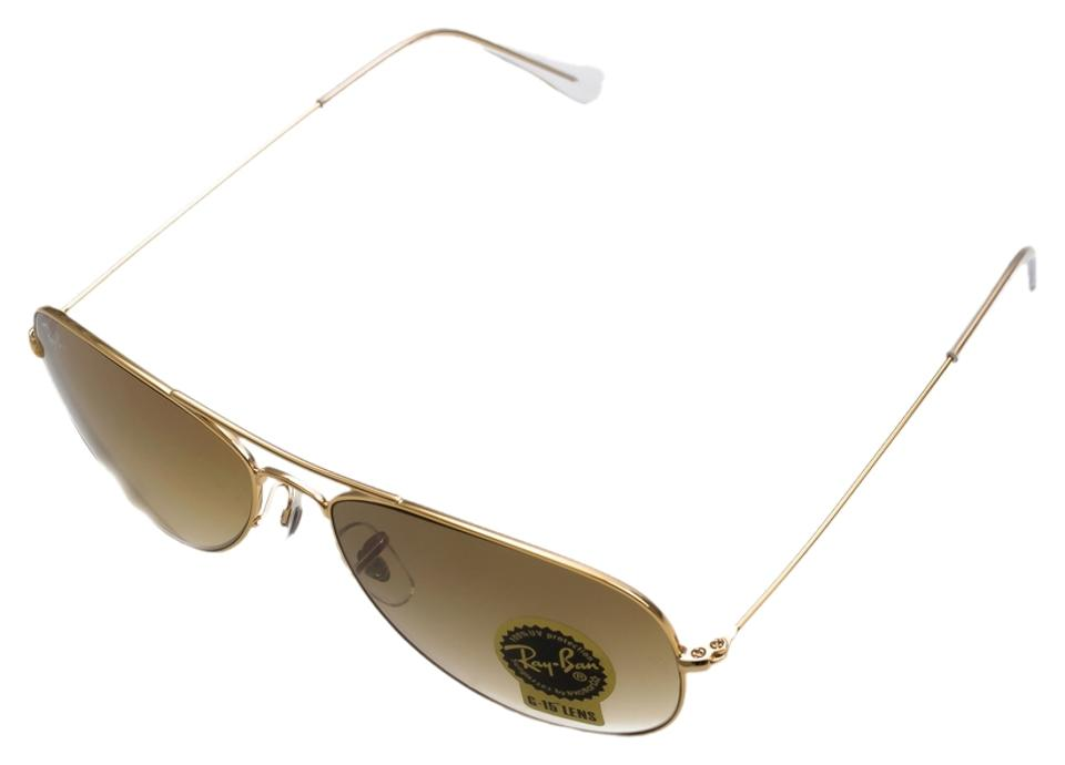 2539e30b7d Ray-Ban Ray-Ban RB3362 001 51 Arista Gold COCKPIT 56mm Light Brown ...