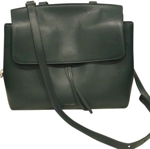 Mansur Gavriel Tote in Hunter Green
