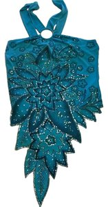 Other Top blue with silver sequin