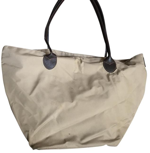 Item - Tan Nylon Tote