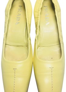 Prada lemon Pumps