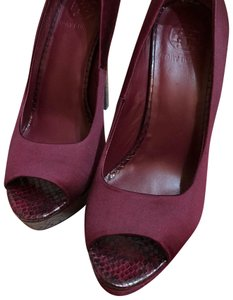 Tory Burch Burgundy Platforms