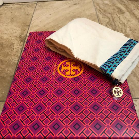 Tory Burch Burgundy Platforms Image 5