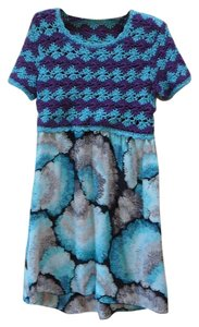 M Missoni short dress Blue M Chanel Prada on Tradesy