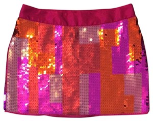Express Skirt Pink, Orange, Purple