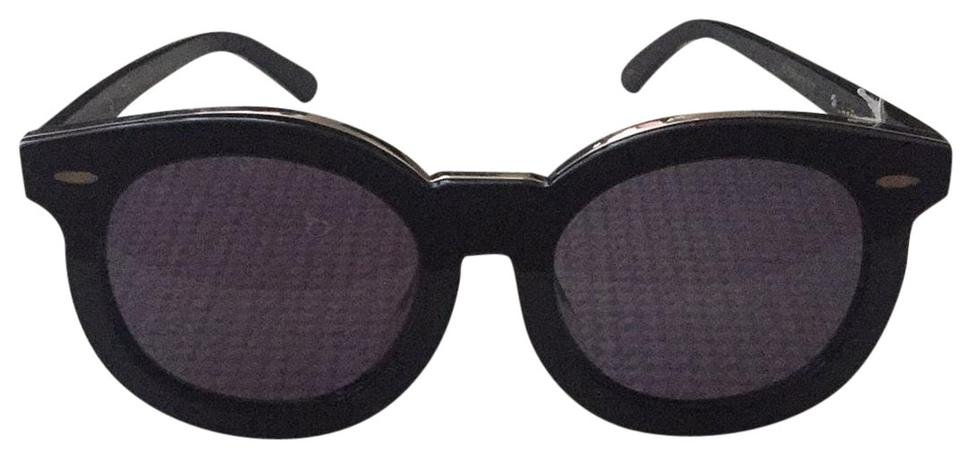 17e6b26655c Karen Walker Karen Walker Super Duper Thistle Round Frame Sunglasses Alternate  Fit Image 0 ...