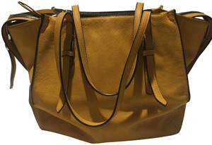 Urban Expressions Satchel in Mustard Yellow