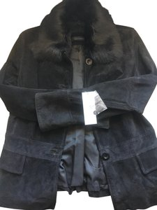 Context Suede Fur Leather Jacket