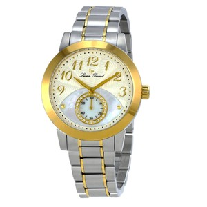 Lucien Piccard Garda Two-Tone Stainless Steel Mother of Pearl Ladies Watch