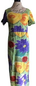 yellow green blue Maxi Dress by Jams World
