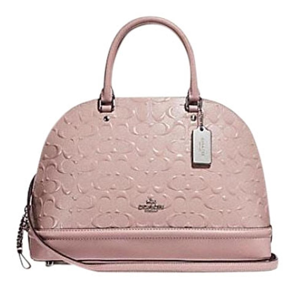 401d81864365 Coach Sierra F27598 Pink Patent Leather Satchel - Tradesy