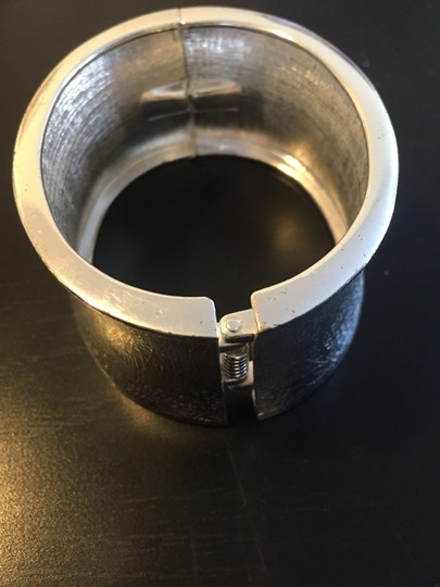 Other Distressed Silver Aluminum Cuff