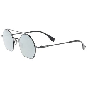 Fendi Fendi Black Round Sunglasses