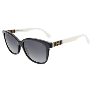 Fendi Fendi Black/Penquin White Butterfly sunglasses