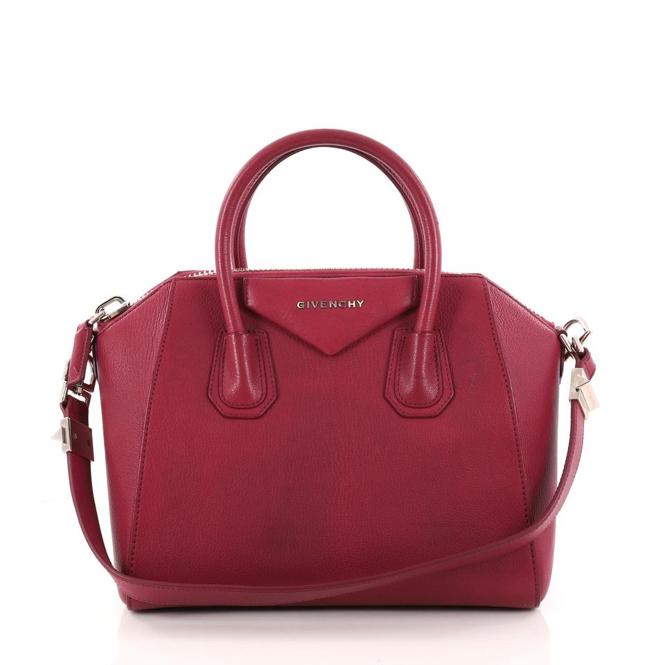 b8e07cb888 Givenchy Antigona Small Pink Leather Satchel - Tradesy