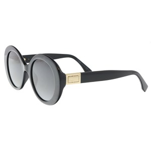 Fendi Fendi Black Oval Sunglasses