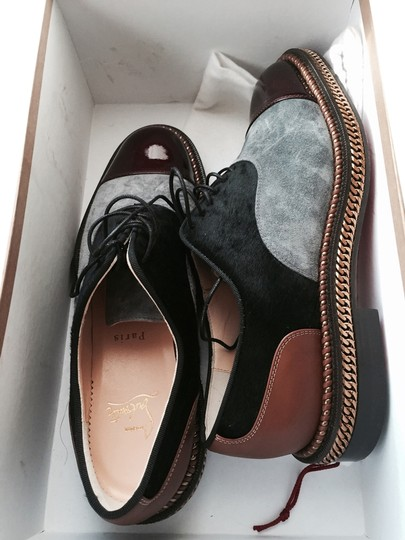Preload https://item5.tradesy.com/images/christian-louboutin-tri-color-oxfords-flats-size-us-8-regular-m-b-2324999-0-0.jpg?width=440&height=440
