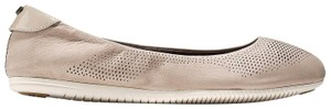 Cole Haan Simply Taupe Nubuck Ivory Flats