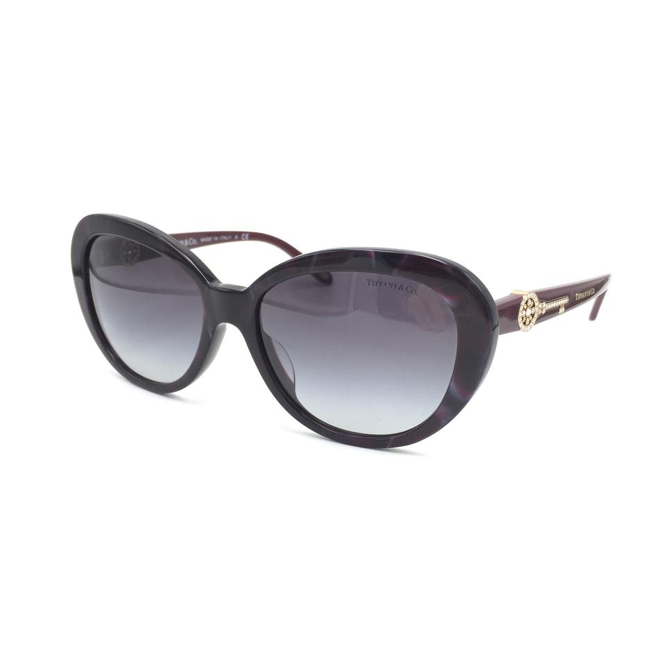 57098940a192 Tiffany   Co. Marble Cat Eye Crystal Key Sunglasses 4118 8201 3C Image 0 ...