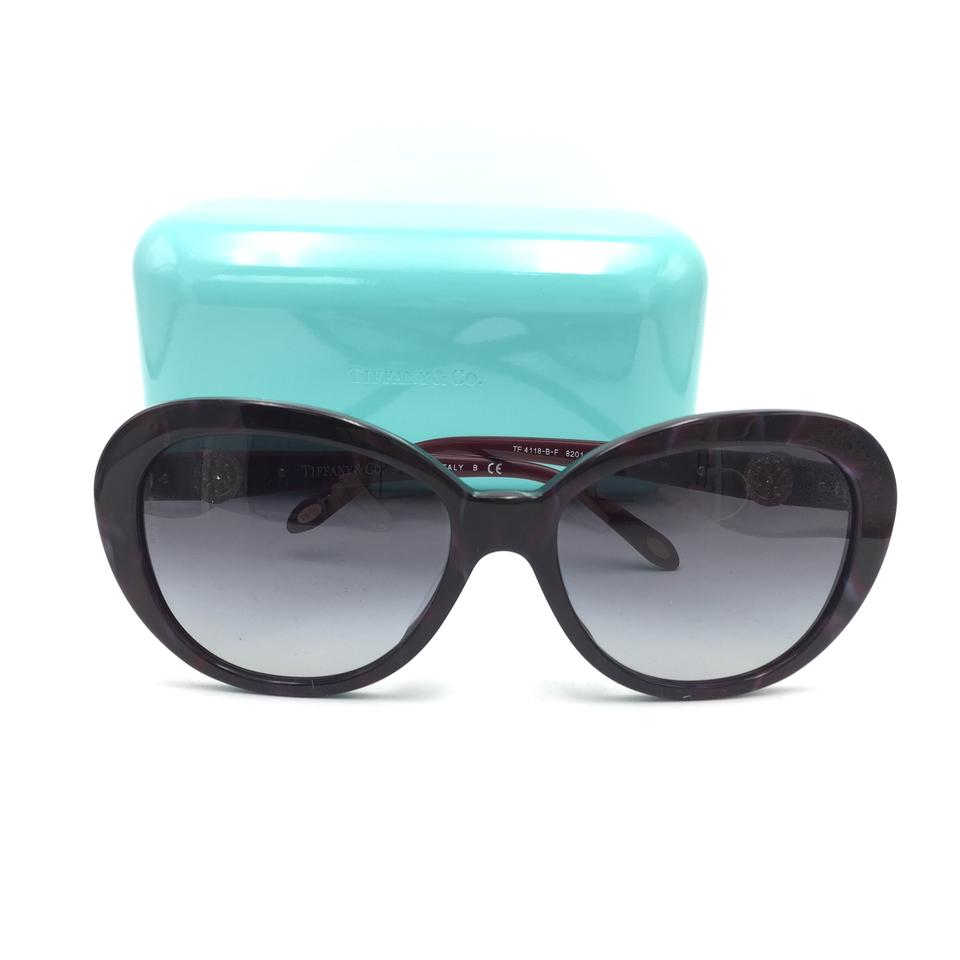 12cdf31f8bbc Tiffany   Co. Marble Cat Eye Crystal Key Sunglasses 4118 8201 3C Image 10.  1234567891011