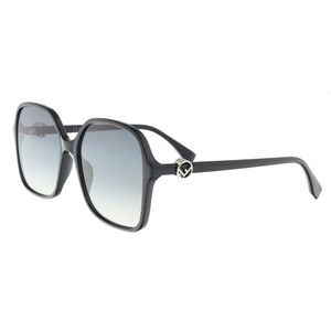 Fendi Fendi Black Square Sunglasses