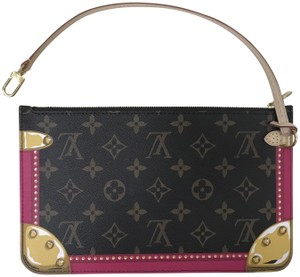 Louis Vuitton 2018 Trunk Collection Neverfull Pouch Multi Clutch