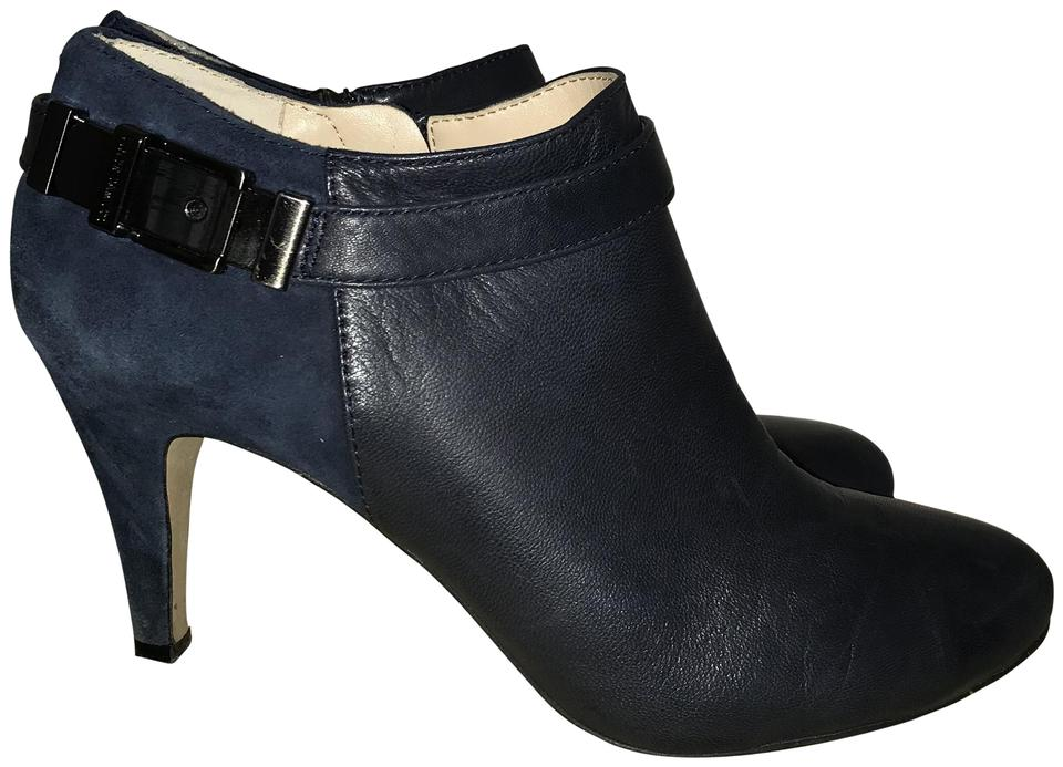 Vince Camuto Boots/Booties Navy Suede and Leather Boots/Booties Camuto 1babcb