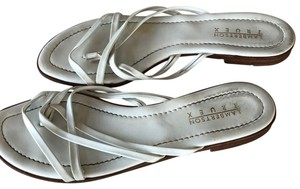 Lambertson Truex White Sandals