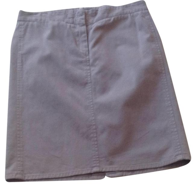 Item - Putty A-line with Rear Pocket Details Skirt Size 0 (XS, 25)