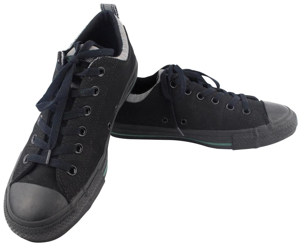 Converse Black Unisex Unisex Unisex Chuck Taylor Low Top Sneaker Women Men 7.5 Flats 163260